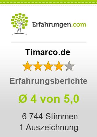 Timarco.de Erfahrungen