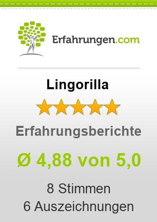 Lingorilla Erfahrungen