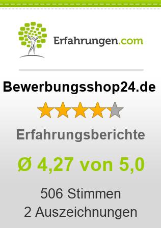 Bewerbungsshop24.de Erfahrungen