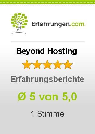 Beyond Hosting Bewertungen