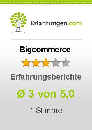 Bigcommerce Erfahrungen