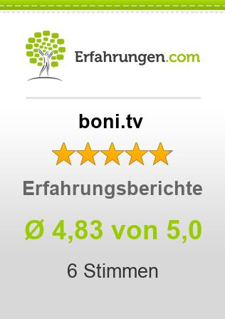 boni.tv Erfahrungen