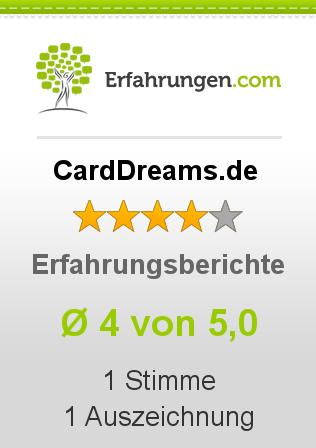 CardDreams.de Erfahrungen