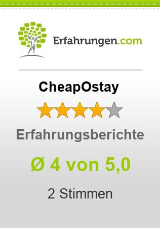 CheapOstay Erfahrungen