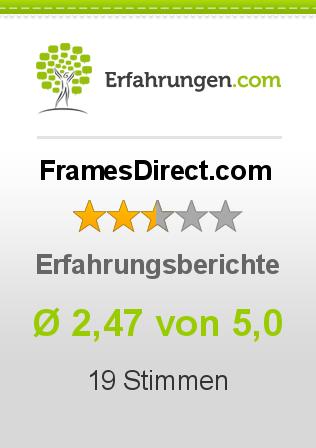 FramesDirect.com Erfahrungen