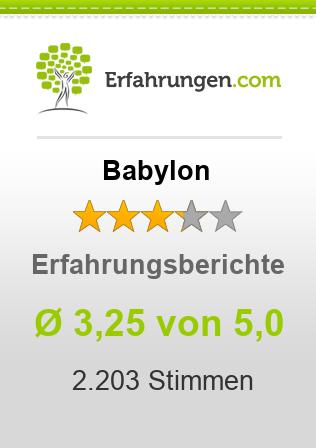 Babylon Erfahrungen