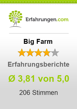 Big Farm Bewertungen