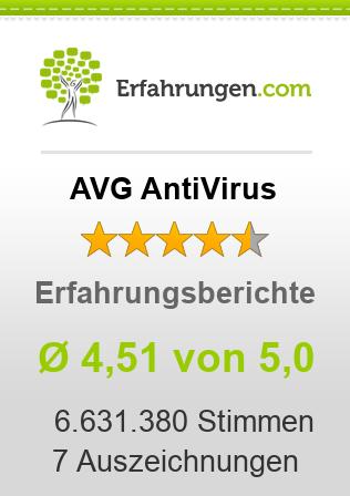 AVG AntiVirus Erfahrungen