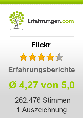Flickr Bewertungen