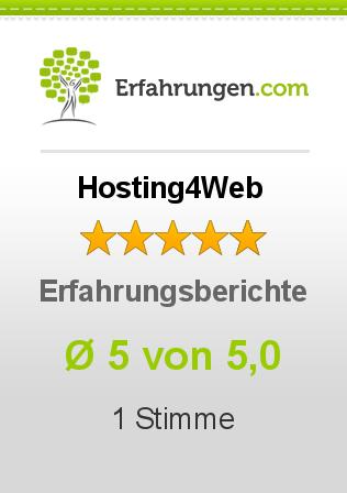 Hosting4Web Erfahrungen