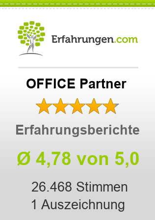 OFFICE Partner Bewertungen