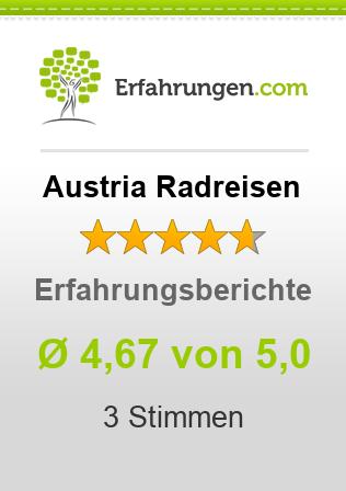 Austria Radreisen Erfahrungen