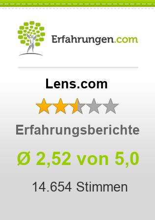 Lens.com Erfahrungen
