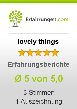 lovely things Erfahrungen
