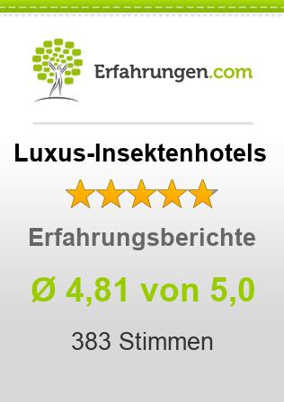 Luxus-Insektenhotels Erfahrungen