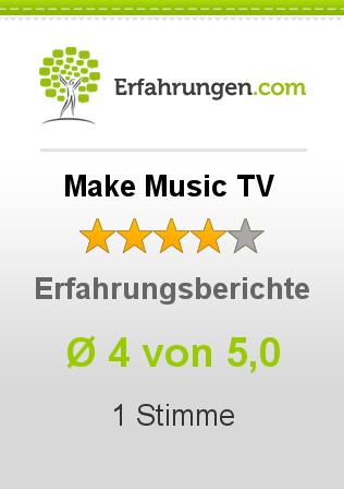 Make Music TV Erfahrungen