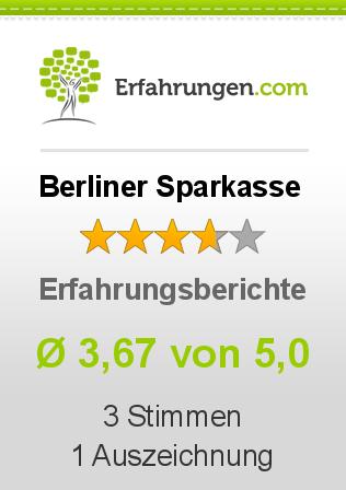 Berliner Sparkasse Erfahrungen