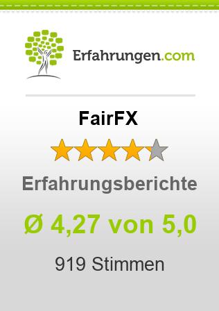 FairFX Erfahrungen