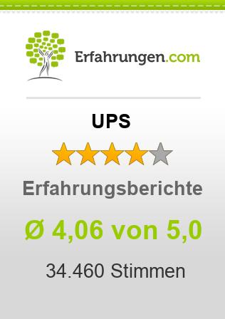 UPS Erfahrungen