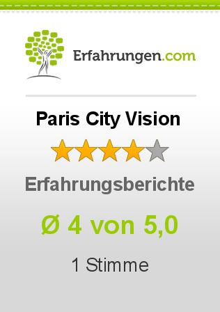 Paris City Vision Erfahrungen