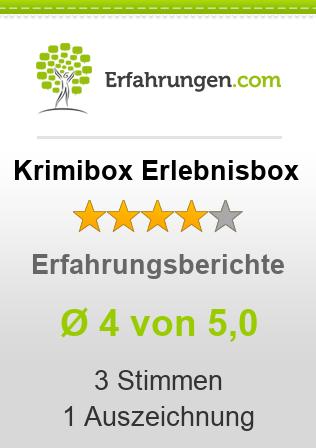Krimibox Erlebnisbox Erfahrungen