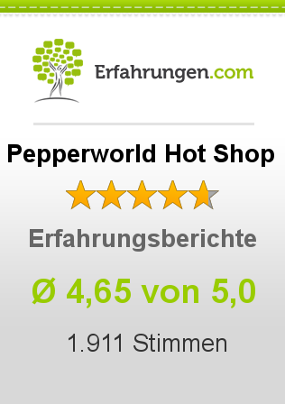 Pepperworld Hot Shop Erfahrungen
