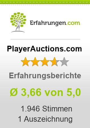 PlayerAuctions.com Erfahrungen