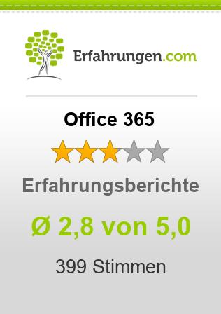 Office 365 Erfahrungen