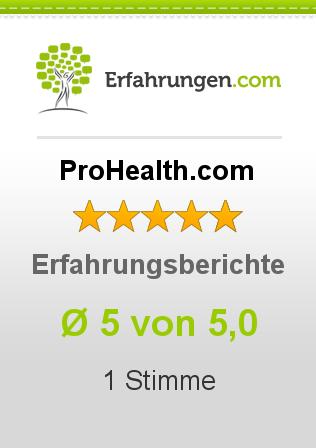 ProHealth.com Erfahrungen