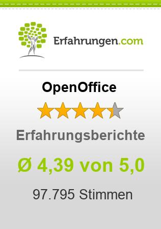 OpenOffice Erfahrungen