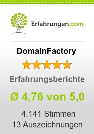 DomainFactory Erfahrungen