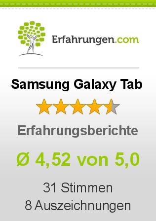 Samsung Galaxy Tab Erfahrungen