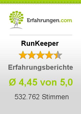 RunKeeper Erfahrungen