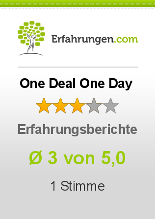 One Deal One Day Erfahrungen