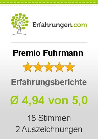 Premio Fuhrmann Erfahrungen
