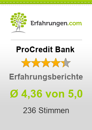 ProCredit Bank Bewertungen