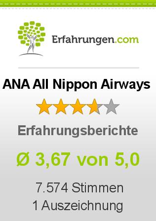 ANA All Nippon Airways Erfahrungen