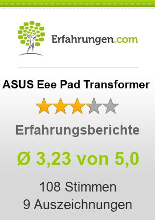 ASUS Eee Pad Transformer Erfahrungen