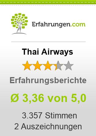 Thai Airways Erfahrungen