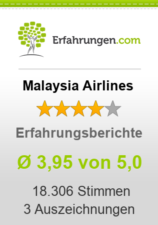 Malaysia Airlines Erfahrungen