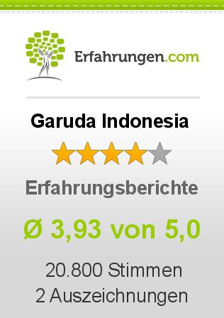 Garuda Indonesia Erfahrungen