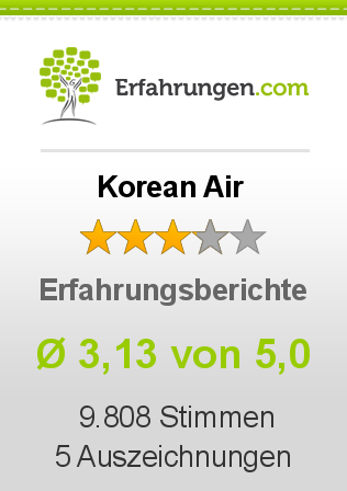 Korean Air Erfahrungen