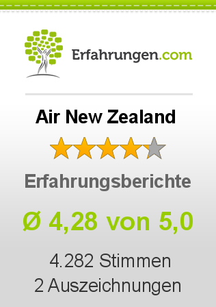 Air New Zealand Bewertungen