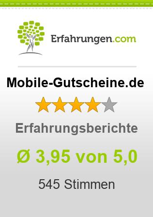 Mobile-Gutscheine.de Erfahrungen