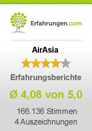 AirAsia Erfahrungen