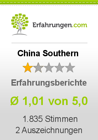 China Southern Bewertungen