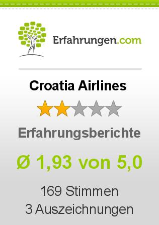 Croatia Airlines Erfahrungen