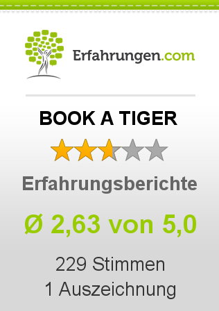 BOOK A TIGER Bewertungen