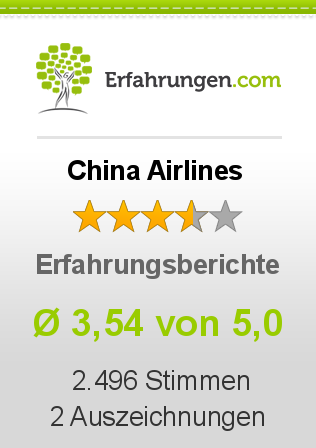 China Airlines Erfahrungen