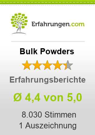Bulk Powders Erfahrungen